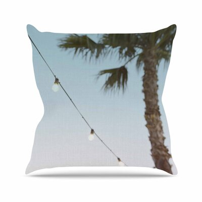 Kristi Jackson Summer Nights Coastal Outdoor Throw Pillow Size: 18 H x 18 W x 5 D