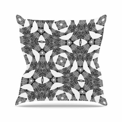 Laura Nicholson Twiggy Boxes Geometric Outdoor Throw Pillow Size: 18 H x 18 W x 5 D