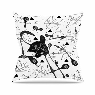 Li Zamperini Geometric Outdoor Throw Pillow Size: 18