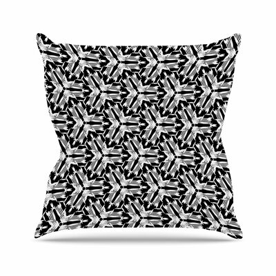 Laura Nicholson Y Knot Outdoor Throw Pillow Size: 18 H x 18 W x 5 D