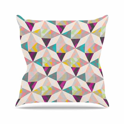 Louise Machado True Diamonds Outdoor Throw Pillow Size: 18 H x 18 W x 5 D