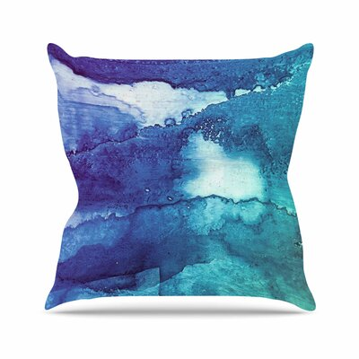 Malia Shields Abstract Series 1 Outdoor Throw Pillow Size: 16 H x 16 W x 5 D