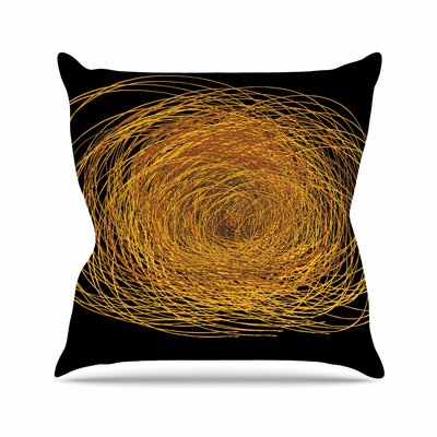 Maria Bazarova Hay Outdoor Throw Pillow Size: 16 H x 16 W x 5 D