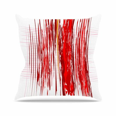 Maria Bazarova Abstraction Outdoor Throw Pillow Size: 18 H x 18 W x 5 D