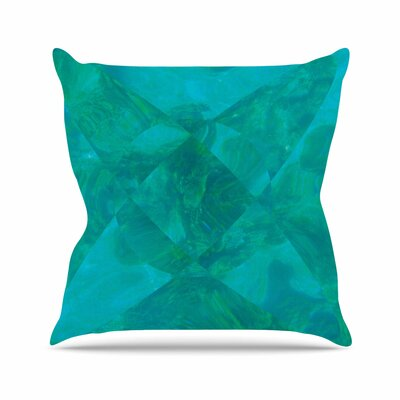 Matt Eklund Under the Sea Outdoor Throw Pillow Size: 16 H x 16 W x 5 D