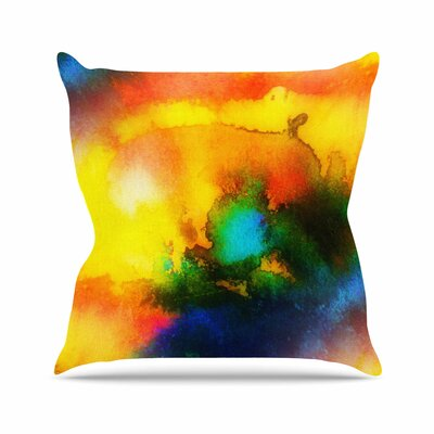 Mimulux Patricia No Good Vibrations Abstract Outdoor Throw Pillow EAAD2001 39275346