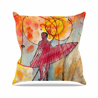Nathan Gibbs Art Untold Beauty Outdoor Throw Pillow Size: 18 H x 18 W x 5 D