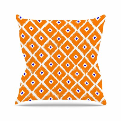 Nick Atkinson the Lucky One Outdoor Throw Pillow Size: 18 H x 18 W x 5 D