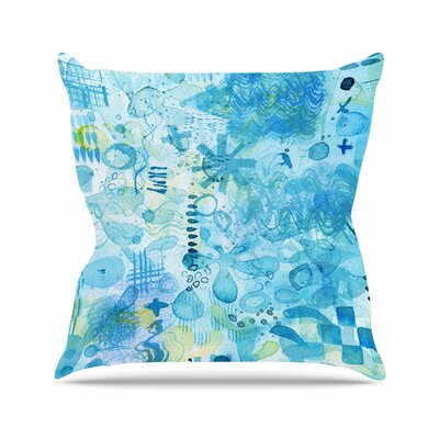 Nic Squirrell Floating Outdoor Throw Pillow Size: 18 H x 18 W x 5 D
