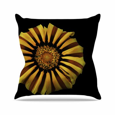 Nick Nareshni Flower Floral Photography Outdoor Throw Pillow Size: 16 H x 16 W x 5 D