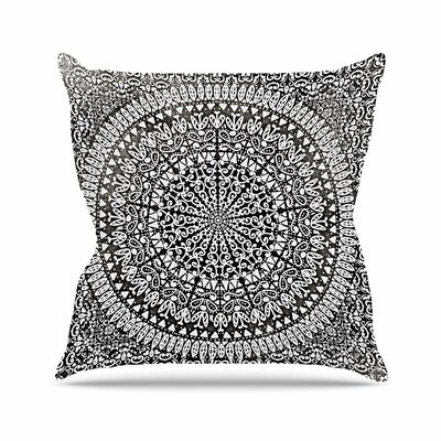 Nika Martinez Mandala Bandana Abstract Outdoor Throw Pillow Size: 16 H x 16 W x 5 D