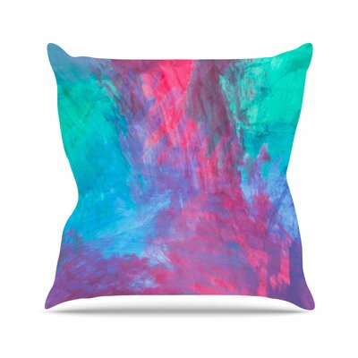 NL Designs Bold Choice Painting Outdoor Throw Pillow Size: 18 H x 18 W x 5 D