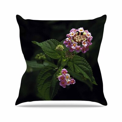 Nick Nareshni the Lantana Flower Outdoor Throw Pillow Size: 18 H x 18 W x 5 D