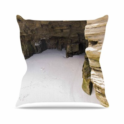 Nick Nareshni Sand and Stone Walls Outdoor Throw Pillow Size: 18 H x 18 W x 5 D