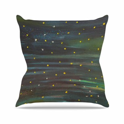 NL Designs Star Fields Outdoor Throw Pillow Size: 16 H x 16 W x 5 D