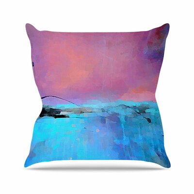 Oriana Cordero Versailles-Abstract Outdoor Throw Pillow Size: 18 H x 18 W x 5 D