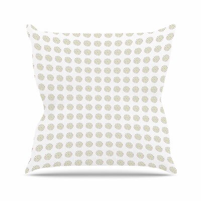 Petit Griffin Drops Digital Outdoor Throw Pillow Size: 18 H x 18 W x 5 D