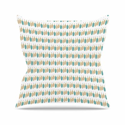 Petit Grffin Colour Dream Abstract Outdoor Throw Pillow Size: 18 H x 18 W x 5 D