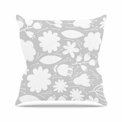 Petit Griffin Leaf Digital Outdoor Throw Pillow Size: 18 H x 18 W x 5 D