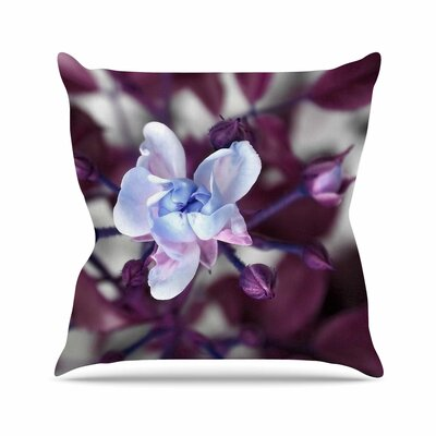 Pia Schenider Roses ll Outdoor Throw Pillow Size: 16 H x 16 W x 5 D