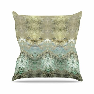 Pia Schenider Heavenly Abstractation Outdoor Throw Pillow Size: 18 H x 18 W x 5 D