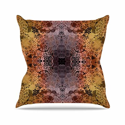 Pia Schneider Floral Fall Pattern Floral Outdoor Throw Pillow Size: 18 H x 18 W x 5 D