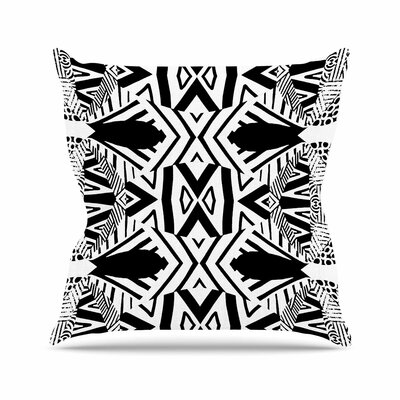 Pom Graphic Design Africa Outdoor Throw Pillow Size: 18 H x 18 W x 5 D