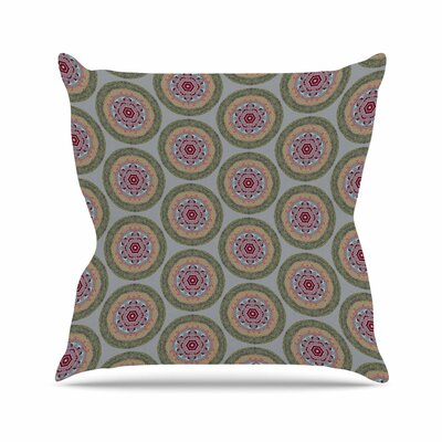 Rachel Watson Lucrezia Borgia Brocade Outdoor Throw Pillow Size: 16 H x 16 W x 5 D