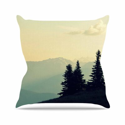Robin Dickinson a Wonderful World Landscape Outdoor Throw Pillow Size: 18 H x 18 W x 5 D