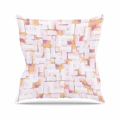 Rachel Watson Cobble Outdoor Throw Pillow Size: 16 H x 16 W x 5 D