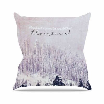 Robin Dickinson Adventures Photography Outdoor Throw Pillow Size: 18 H x 18 W x 5 D