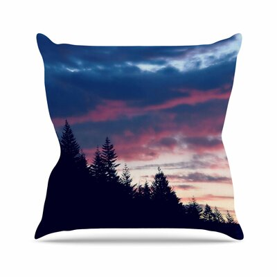Robin Dickinson Go on Adventures Skyline Outdoor Throw Pillow Size: 18 H x 18 W x 5 D