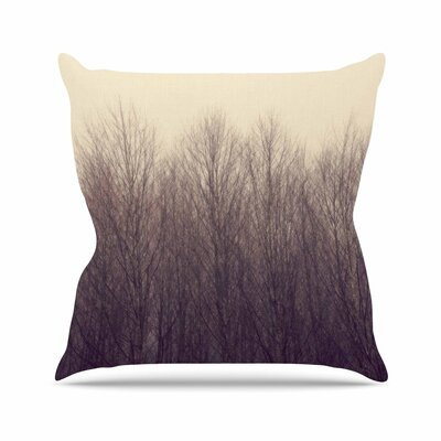 Robin Dickinson Forest Outdoor Throw Pillow Size: 16 H x 16 W x 5 D