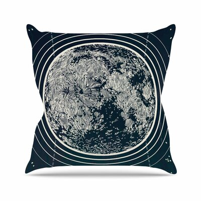Sam Posnick We are Without Limits Typography Outdoor Throw Pillow Size: 18 H x 18 W x 5 D