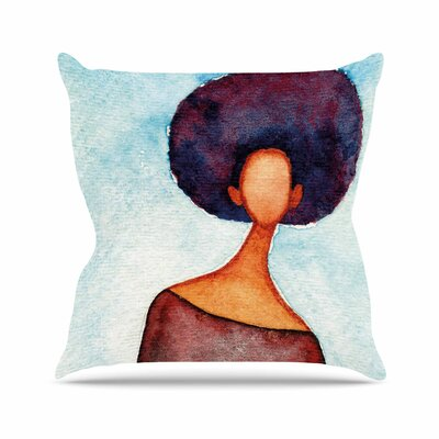 Stacey-Ann Cole a Sense of Self Outdoor Throw Pillow Size: 16 H x 16 W x 5 D