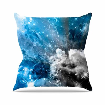 Shirlei Patricia Muniz We are Waiting for.. Abstract Outdoor Throw Pillow Size: 18