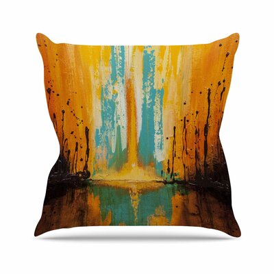Steven Dix Inception or Birth Outdoor Throw Pillow Size: 16 H x 16 W x 5 D
