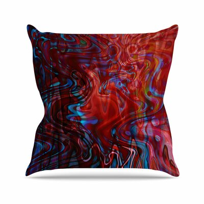 Suzanne Carter Flow Outdoor Throw Pillow Size: 18 H x 18 W x 5 D