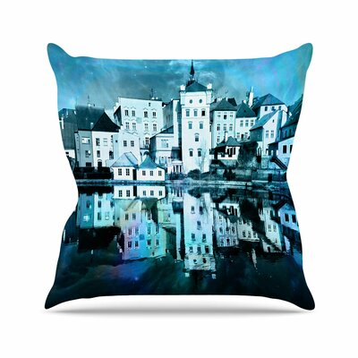 Suzanne Carter Night Sky Outdoor Throw Pillow Size: 16 H x 16 W x 5 D