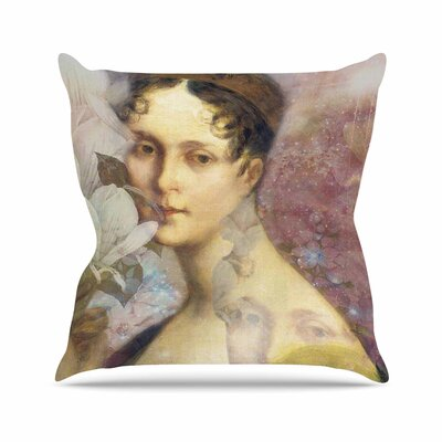 Suzanne Carter Magnolia Dream Outdoor Throw Pillow Size: 16 H x 16 W x 5 D