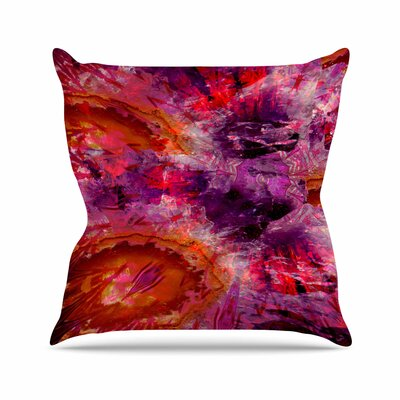 Suzanne Carter Gem Stone Outdoor Throw Pillow Size: 16 H x 16 W x 5 D