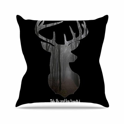 Suzanne Carter the Road Contemporary Nature Outdoor Throw Pillow Size: 16 H x 16 W x 5 D