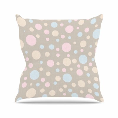 Suzanne Carter Lotty Outdoor Throw Pillow Size: 16 H x 16 W x 5 D