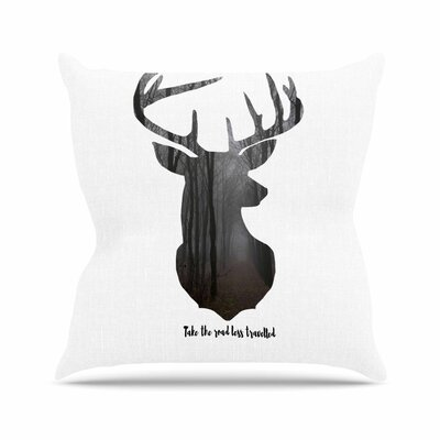 Suzanne Carter the Road2 Contemporary Nature Outdoor Throw Pillow Size: 18 H x 18 W x 5 D