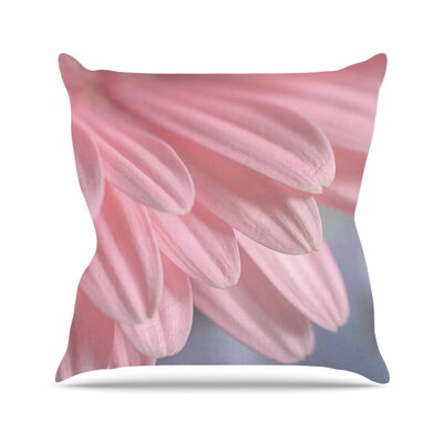 Suzanne Harford Airy Floral Outdoor Throw Pillow Size: 18 H x 18 W x 5 D