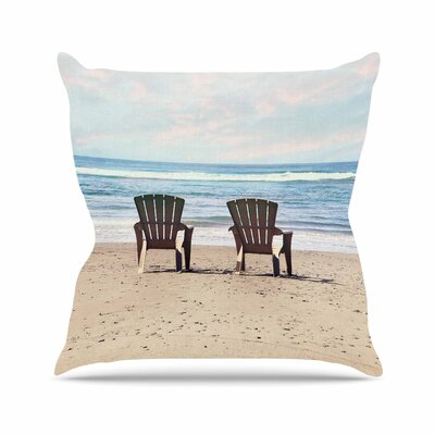 Sylvia Cook a Great View Travel Outdoor Throw Pillow Size: 16 H x 16 W x 5 D