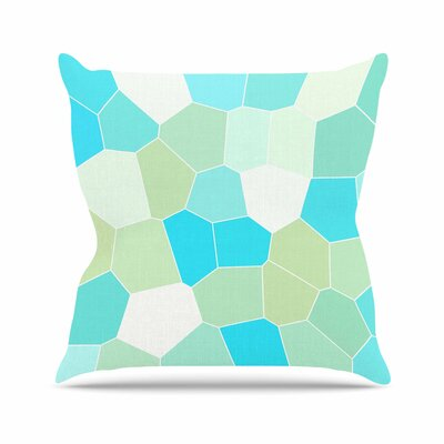 Sylvia Coomes Outdoor Throw Pillow Size: 18 H x 18 W x 5 D