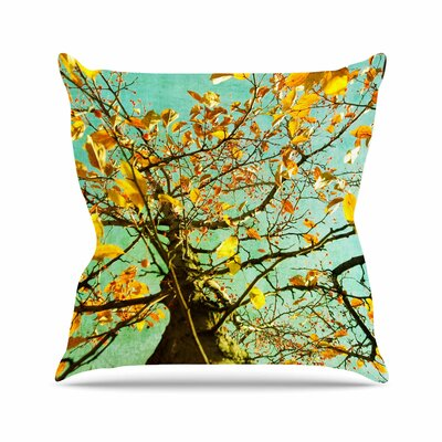 Sylvia Coomes Autumn Tree Outdoor Throw Pillow Size: 16 H x 16 W x 5 D