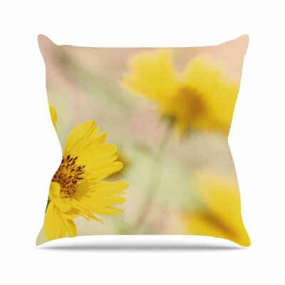 Sylvia Coomes Abstract Flowers Photography Outdoor Throw Pillow Size: 16 H x 16 W x 5 D