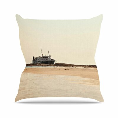 Sylvia Coomes Nautical Bliss Outdoor Throw Pillow Size: 16 H x 16 W x 5 D